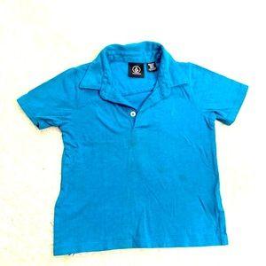 Volcom | Polo Shirt Boys Size 4 Collared